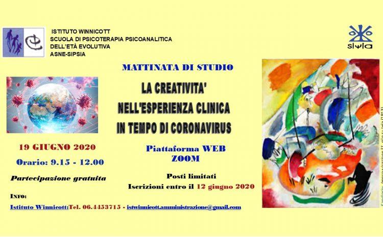 La creatività nell'esperienza clinica in tempo di Coronavirus