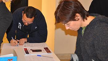 Scheda di iscrizione al corso